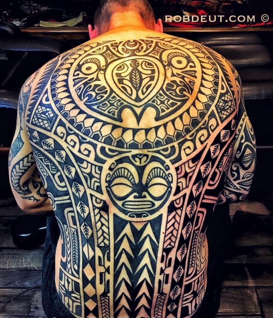 Maori Tattoo Shop: Rob Deut, TheSeventhSenseTattoos